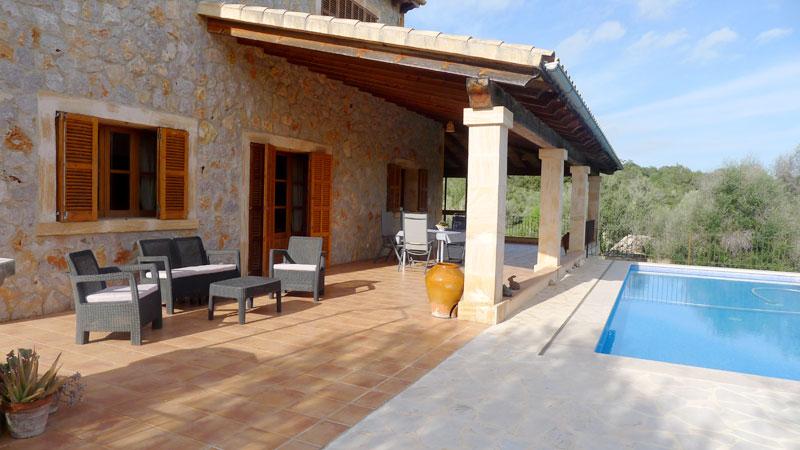 Finca Bareta auf Mallorca mit privatem Pool & Internet