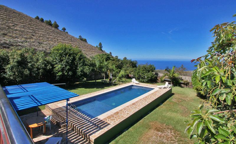 Ferienhaus La Laguna Meerblick
