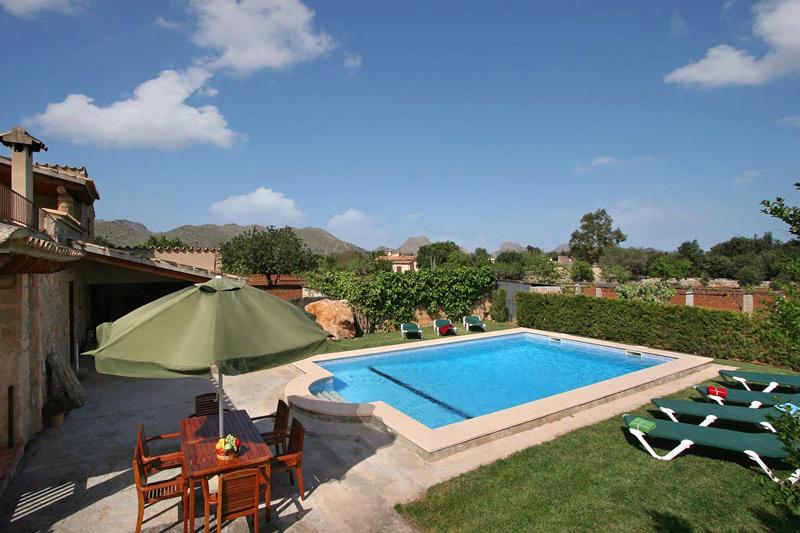 Gemauerte Sommerküchen : Finca madura auf mallorca mit pool und sommerküche