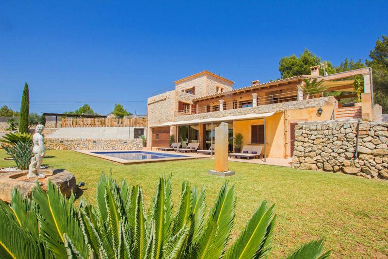 Villa Alcudia Garten