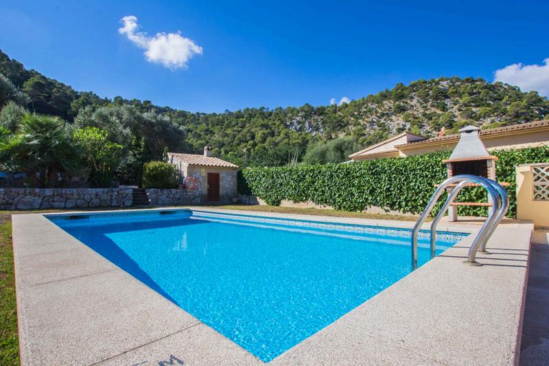Ferienhaus Pleto auf Mallorca mit Internet & privatem Pool mieten