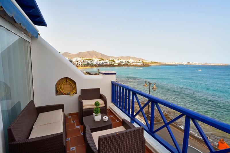 Appartement Playa Blanca Terrasse