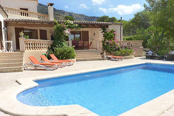 Ferienhaus Jaramento auf Mallorca mit Pool von privat