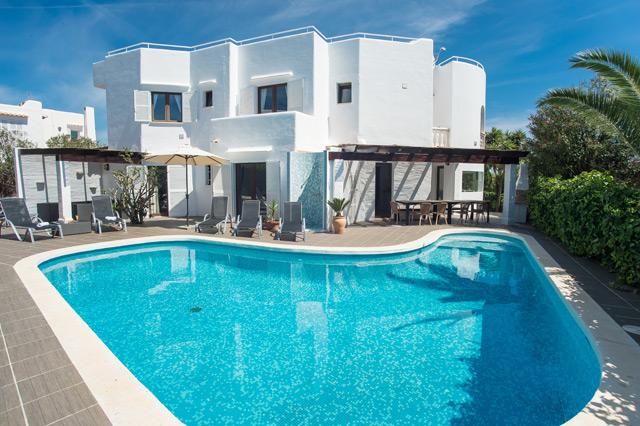 Ferienhaus Cala d'Or Pool