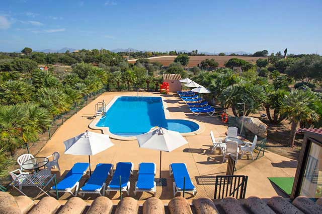 Finca Can Picafort Pool