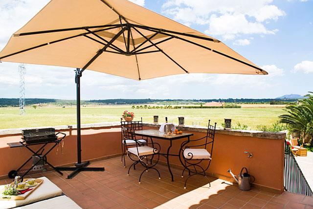 Ferienhaus Campos Terrasse