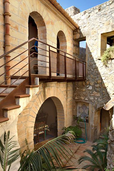 Spanischer Innenhof ferienhaus autentico auf mallorca mit pool privat