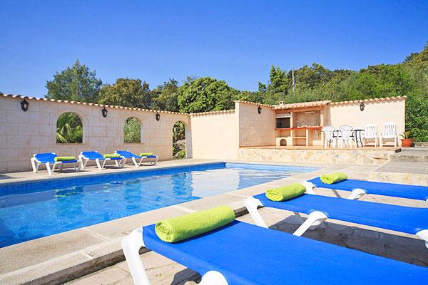Finca Favorita auf Mallorca mit Pool mieten - Las Islas Reisen