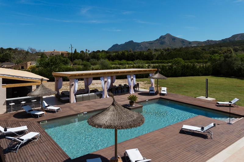 Finca Alcudia Pool