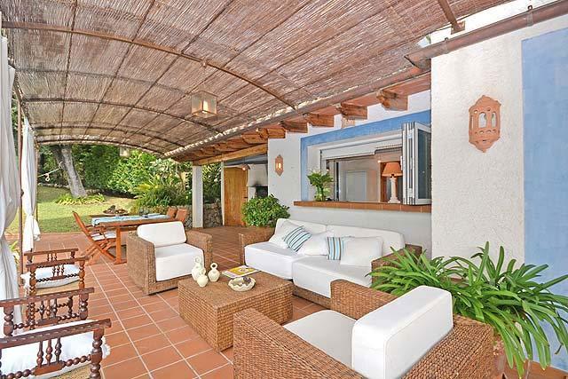 Ferienhaus Inca Terrasse