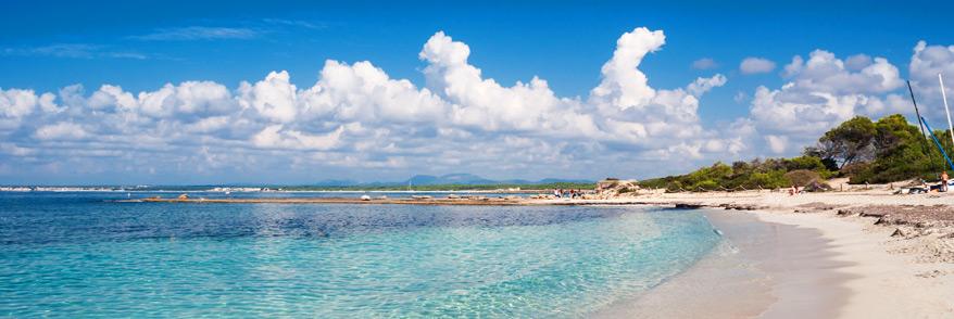 Strand Es Trenc auf Mallorca