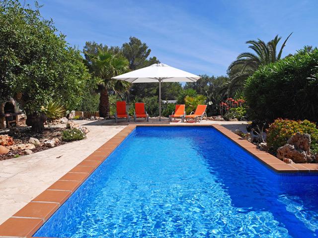 Ferienhaus Cala Mondrago Pool