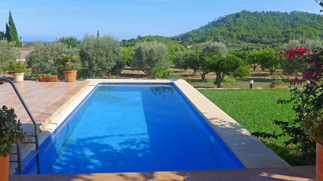 finca nolina auf mallorca mit privatem pool internet. Black Bedroom Furniture Sets. Home Design Ideas