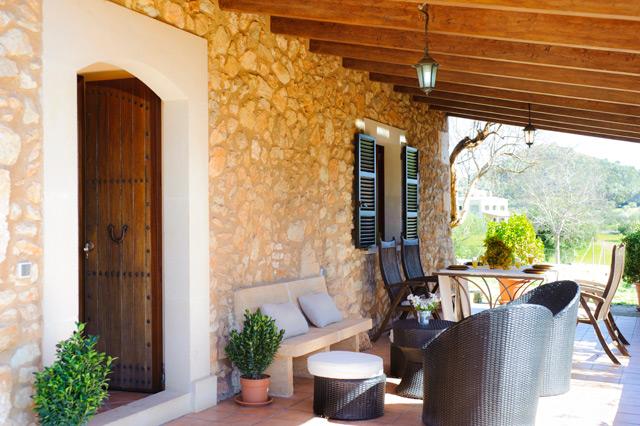 Finca palaci bei s 39 horta auf mallorca mit pool mieten for Mallorca ferienhaus mieten