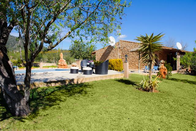 Finca S' Horta Garten