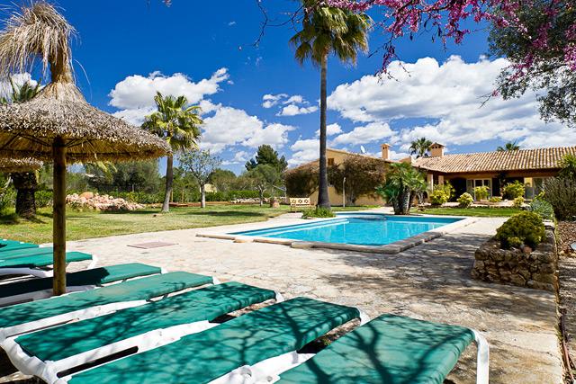 Ferienhaus Cala Murada Pool