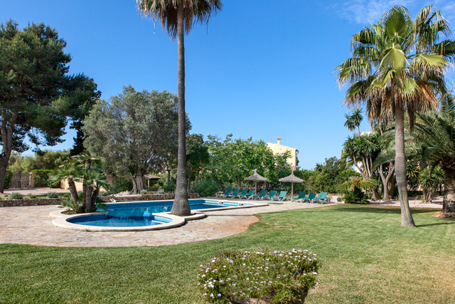 Ferienhaus Cala Murada Garten