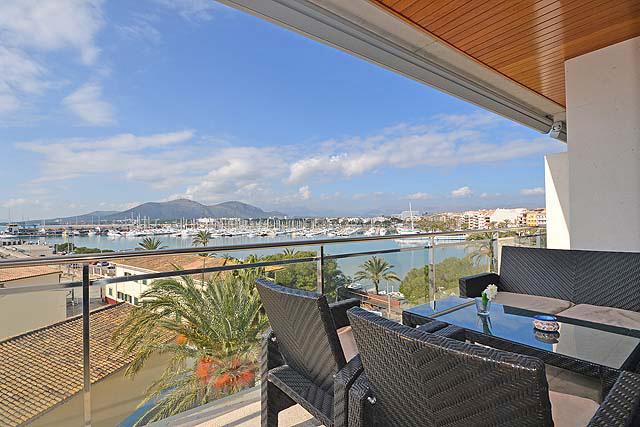Appartement Puerto de Alcudia Meerblick