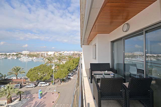 Appartement Puerto de Alcudia Terrasse