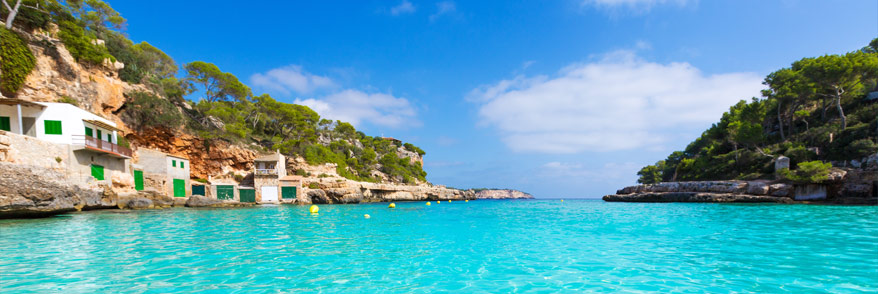 Traumhaus am meer mit pool  Mallorca mit Meerblick + am Strand/Meer: Ferienhäuser & Fincas