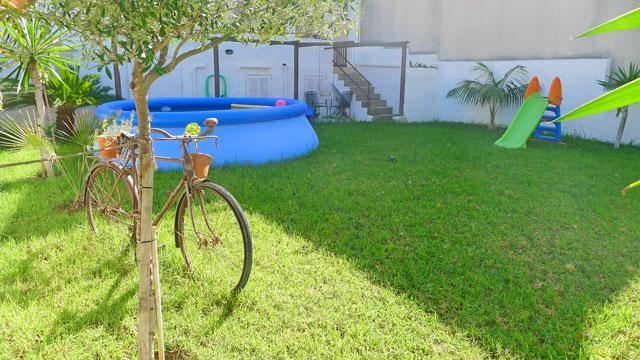 Ferienhaus Colonia San Pere Garten
