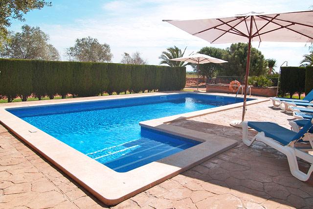 Finca Campos Poolterrasse