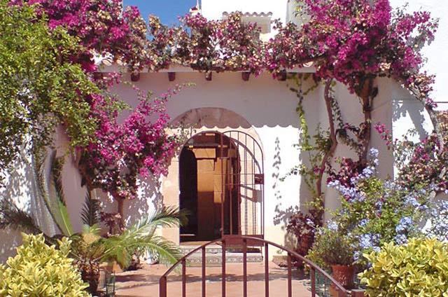 Ferienhaus Port Verd Gartenansicht