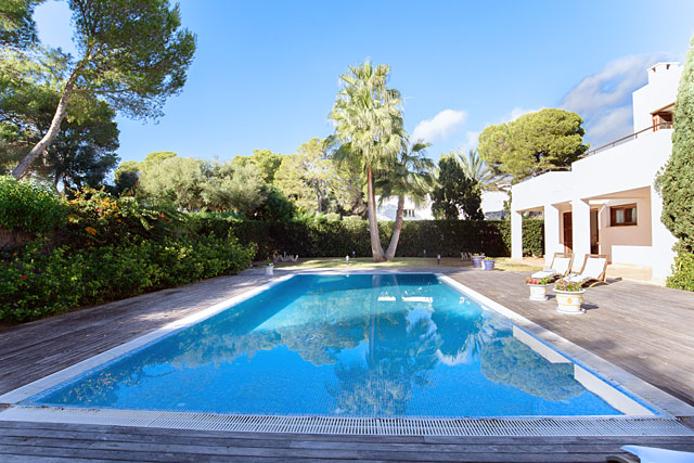 Ferienhaus Cala d'Or Poolbereich