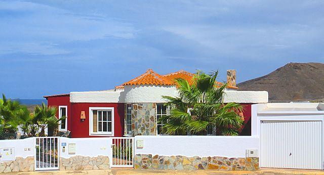 Ferienhaus La Pared Hausansicht