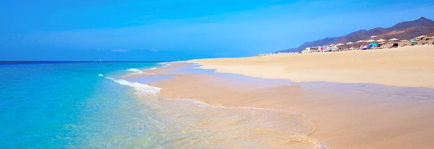Strand Playa del Matorral bei Pajara