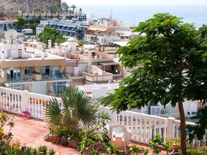 Ausblick über Puerto Mogan