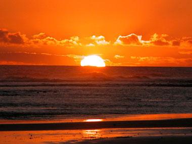 Sonnenuntergang in Maspalomas