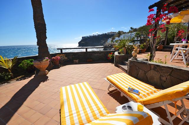 Ferienhaus mit weitem Meerblick auf Gran Canaria