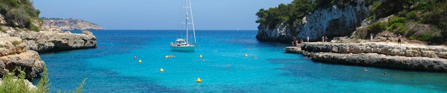 Strand im Osten von Mallorca