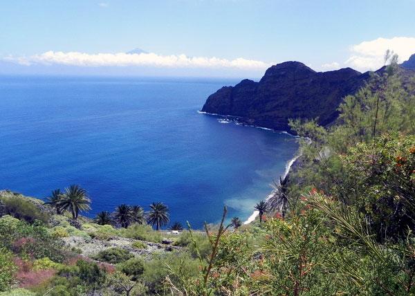 Bucht auf La Gomera