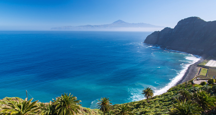 Strand santa Catalina in Hermigua