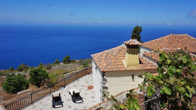 Ferienhaus Puntagorda Meerblick