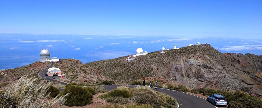 Observatorium am Roque Los Muchachos