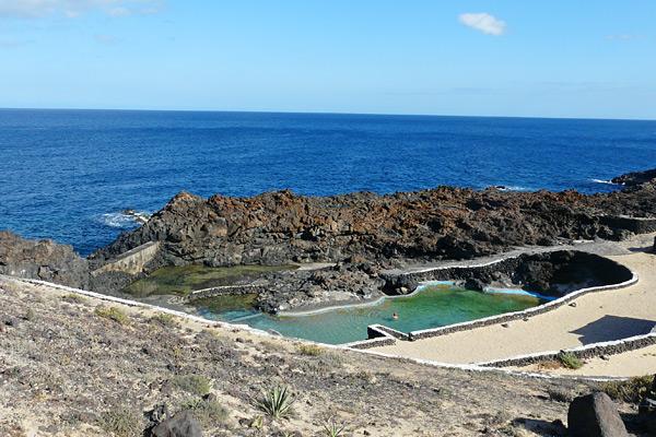 Meerschwimmbecken auf Lanzarote