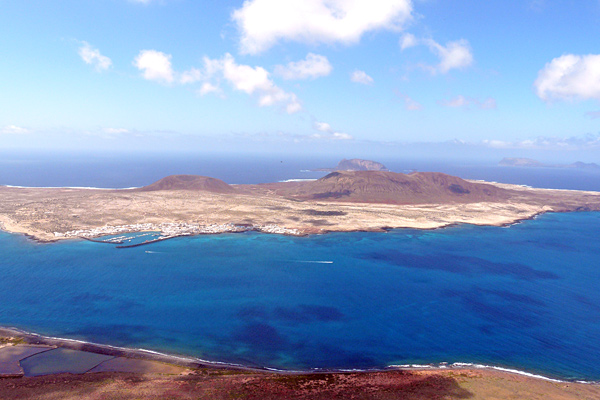 Lanzarote aus der Luft