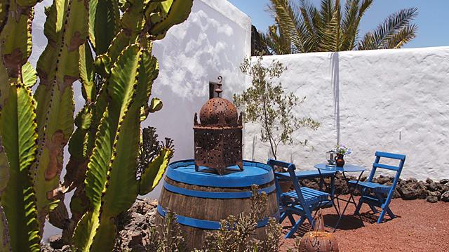 Finca-Appartement Yaiza Garten