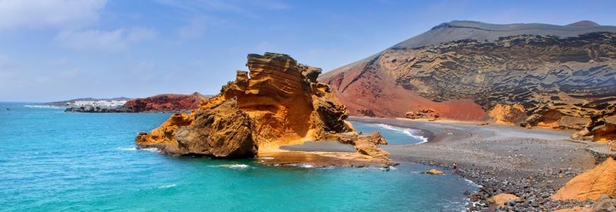 Strand El Golfo auf Lanzarote