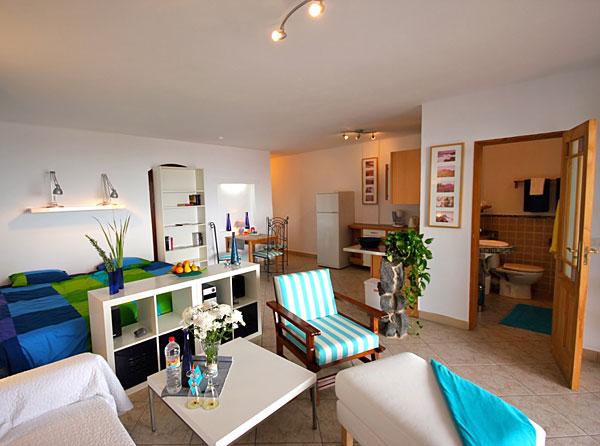 Ferienwohnung simpatico bei la asomada auf lanzarote - Farben im interieur stilvolle ambiente ...