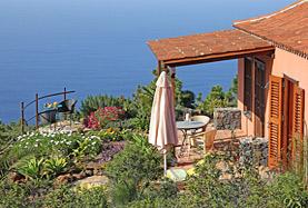 Ferienhaus mit Meerblick auf La Palma