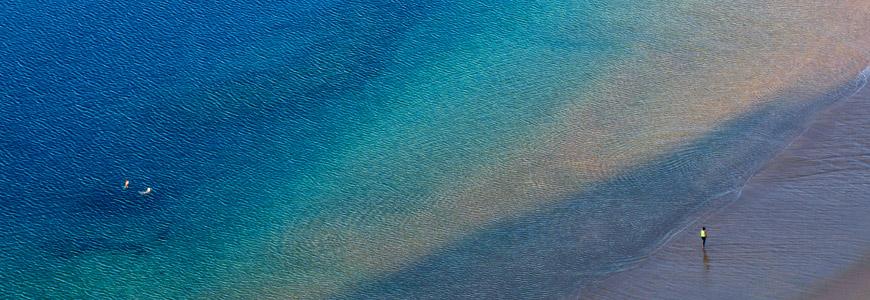 Playa de la Teresitas auf Teneriffa