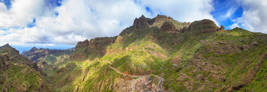 Gebirge auf Teneriffa
