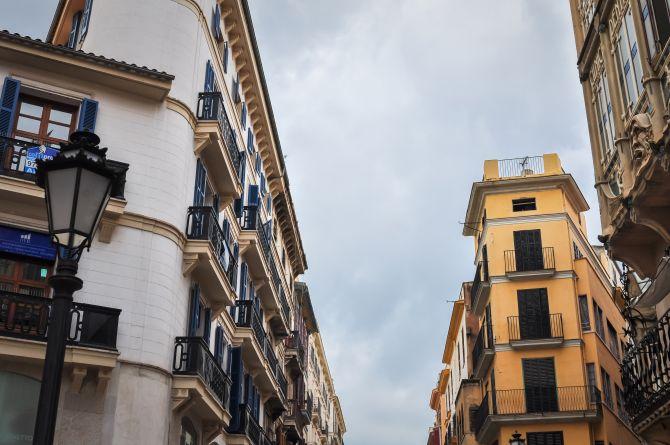 Straße in Palma