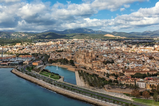 Palma aus der Luft