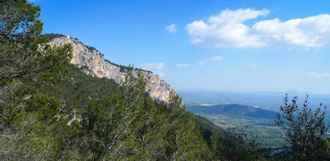 Aussicht vom Castell d'Alaró