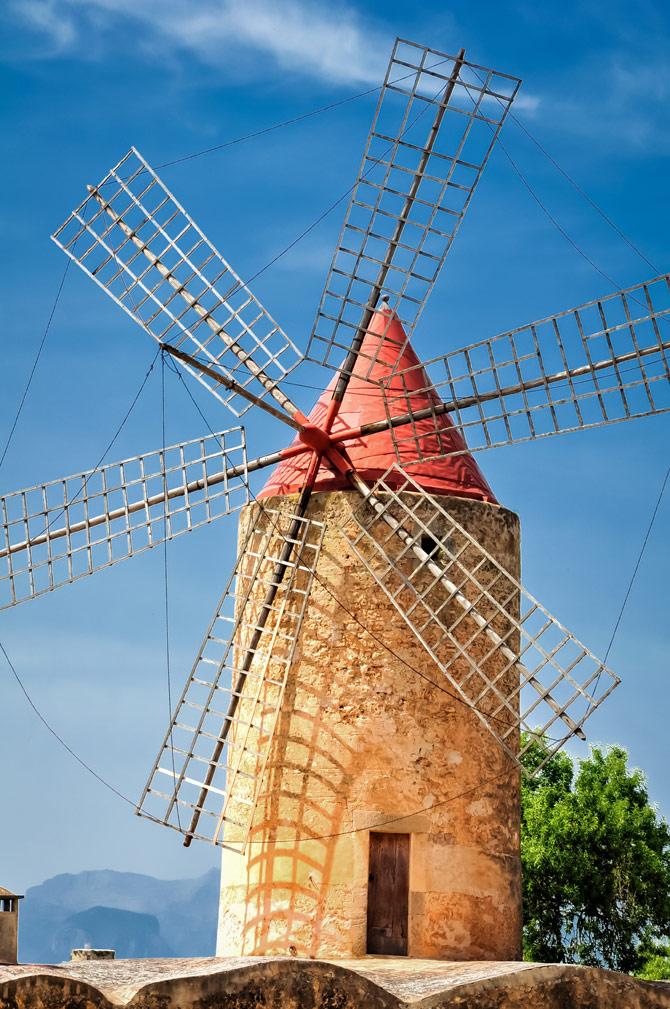 Mühle auf Mallorca